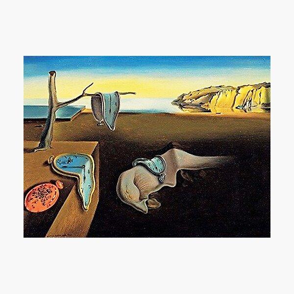 DALI, Salvador Dali, The Persistence of Memory, 1931. Photographic Print