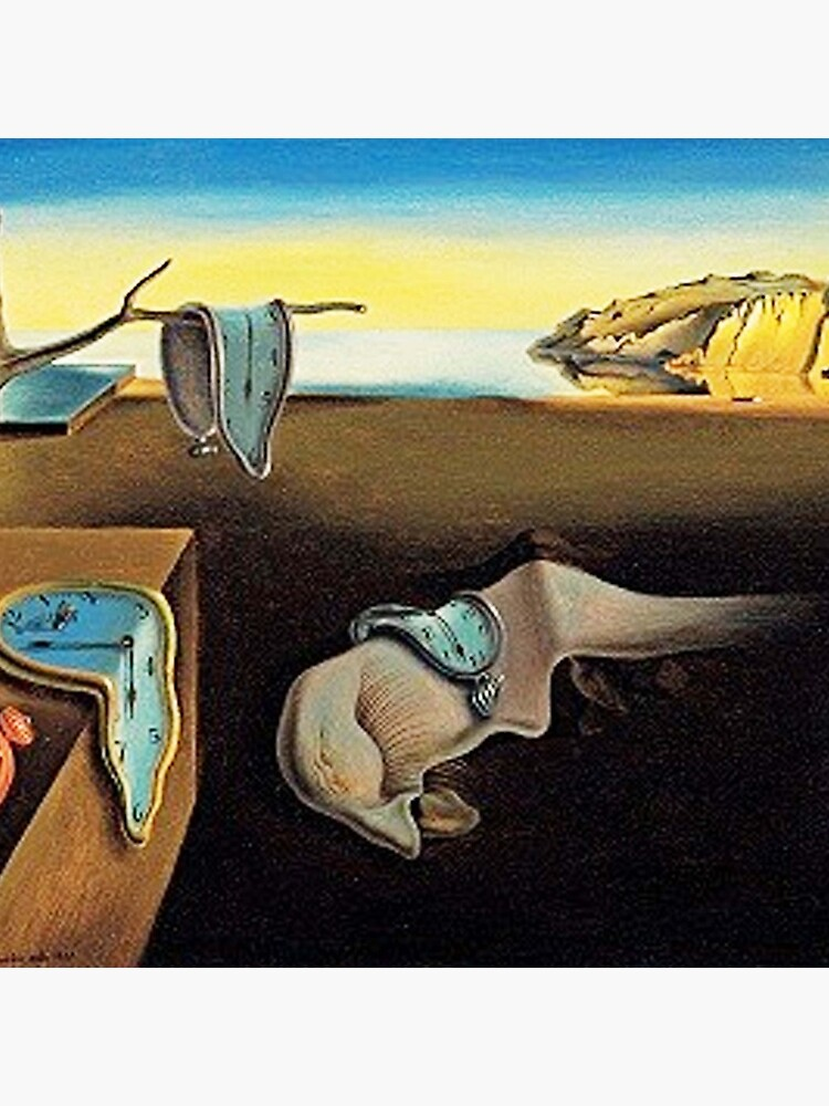 DALI, Salvador Dali, The Persistence of Memory, 1931. by TOMSREDBUBBLE