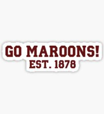 Go Maroons Sticker