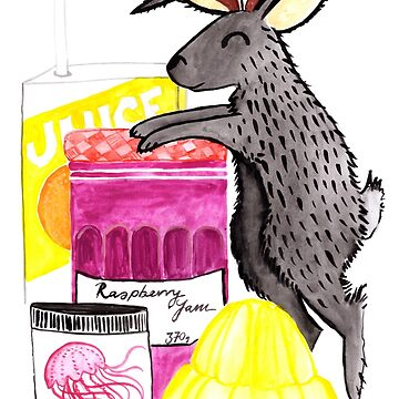 J is for Jackalope by makemerriness