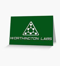 Mutant X-gene Laboratory  Greeting Card