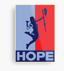 Buffy is Hope! Metal Print