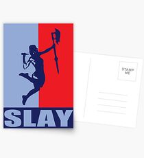 Slay! Postcards