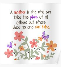 A Mother Is... Poster