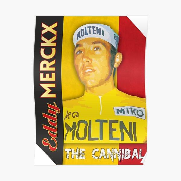 Eddy Merckx - The Cannibal Poster