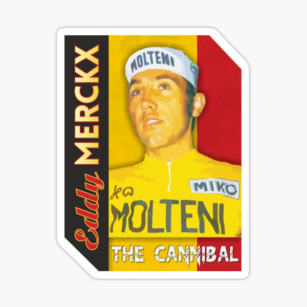 Eddy Merckx - Le cannibale Sticker