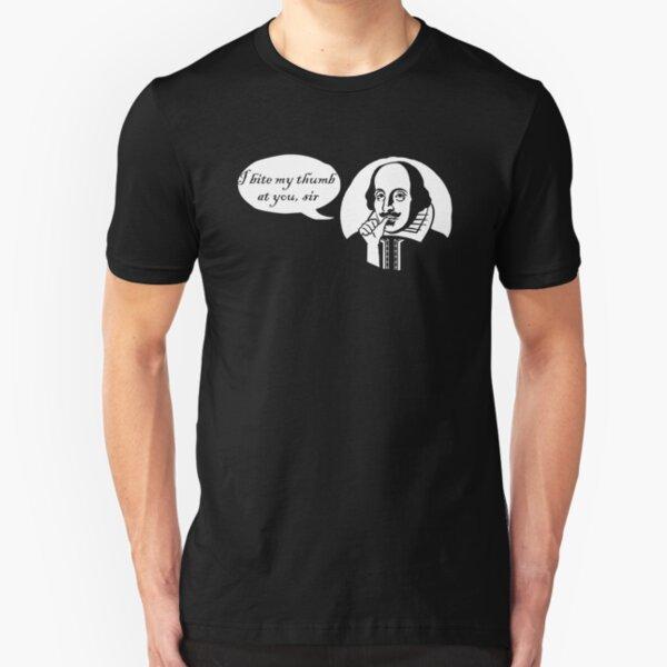 I Bite My Thumb At You, Sir Slim Fit T-Shirt