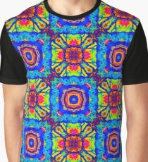 Seamless pattern tile with mandalas Graphic T-Shirt