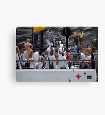 csd in berlin germany - pride parades - gay pride Canvas Print