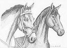 Horses  by Juhan Rodrik