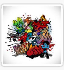 Graffiti Art Sticker
