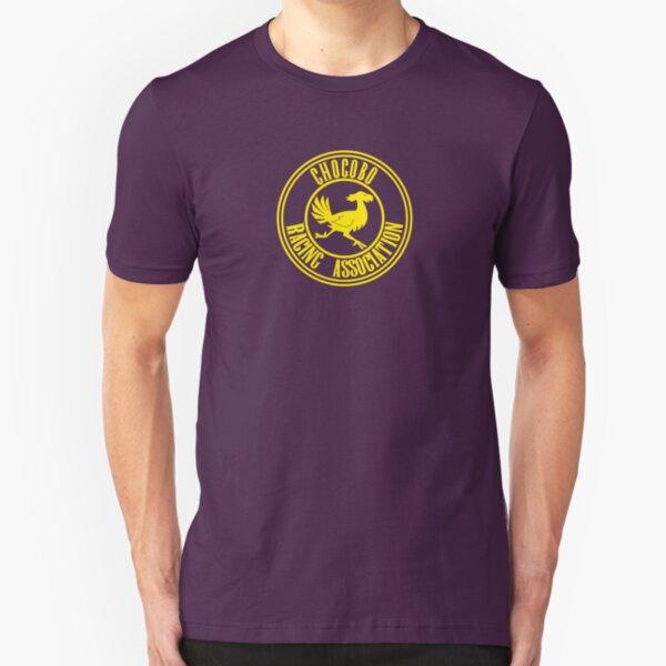 Chocobo Racing Association Slim Fit T-Shirt