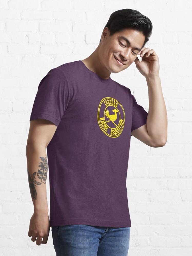 Alternate view of Chocobo Racing Association Essential T-Shirt