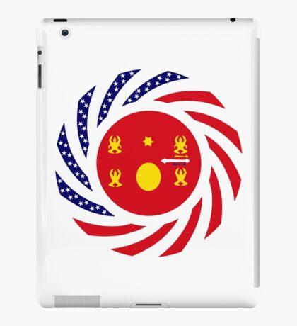 Hmong American Multinational Patriot Flag Series 1.0 iPad Case/Skin
