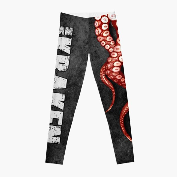 Kraken Black Triple threat Leggings