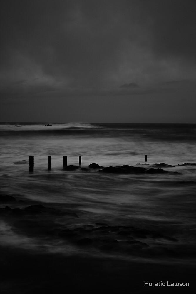 Stormy Sea at Dunbar by Horatio Lawson