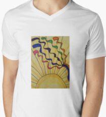 Ribbons of sunlight Men's V-Neck T-Shirt
