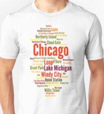 Chicago (Windy City; Illinois, USA) Unisex T-Shirt