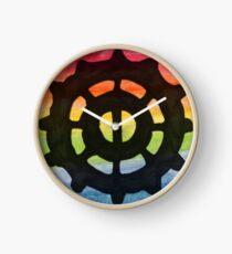 Heda Symbol - Rainbow Clock