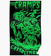 The Cramps (Green) Poster