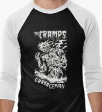 The Cramps (B&W) Men's Baseball ¾ T-Shirt