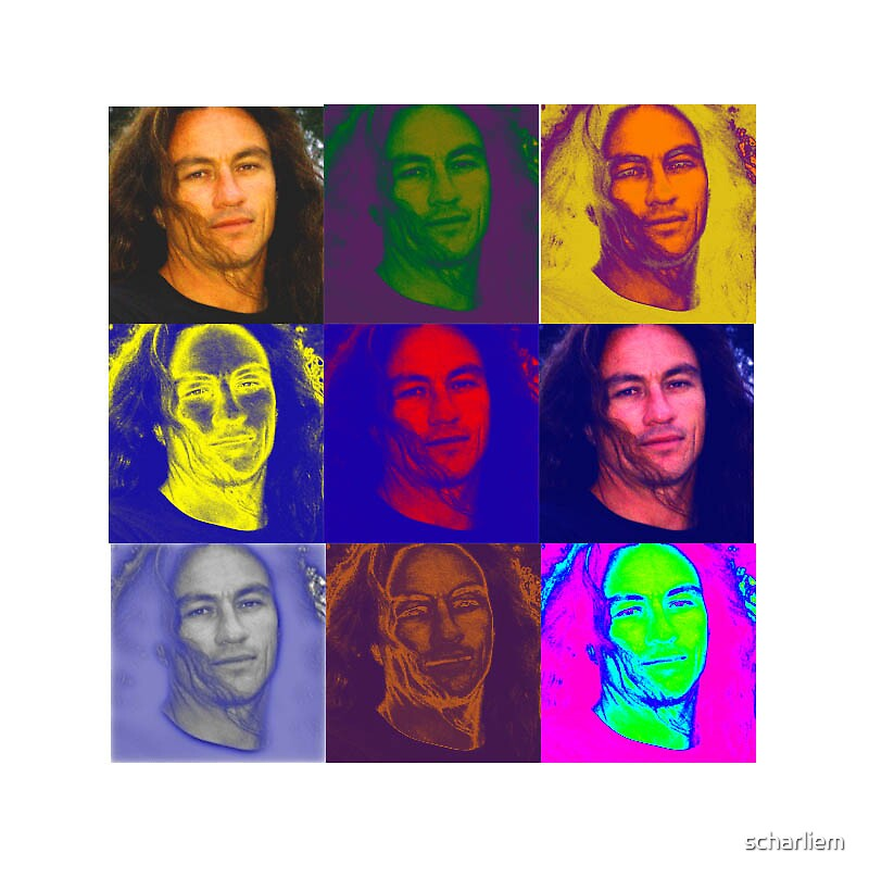 portrait in colour by scharliem