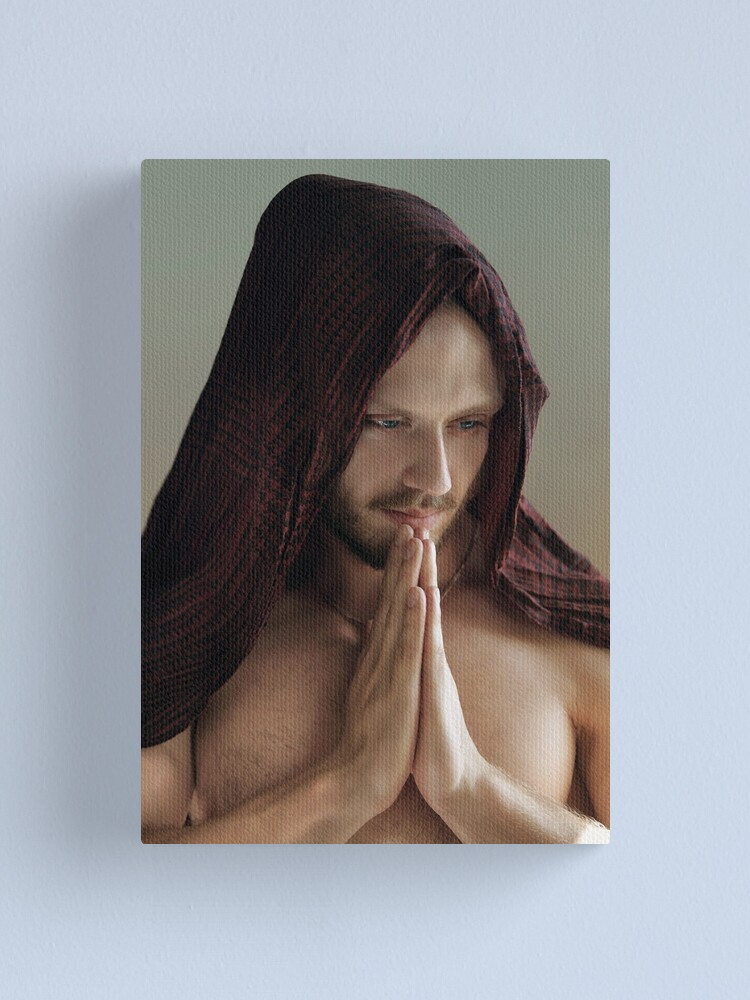 Alternate view of Prayer Canvas Print