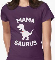Mamasaurus Womens Fitted T-Shirt