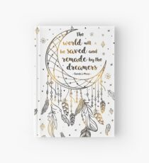 The world will be saved Hardcover Journal