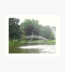 Mill Creek Park Art Print