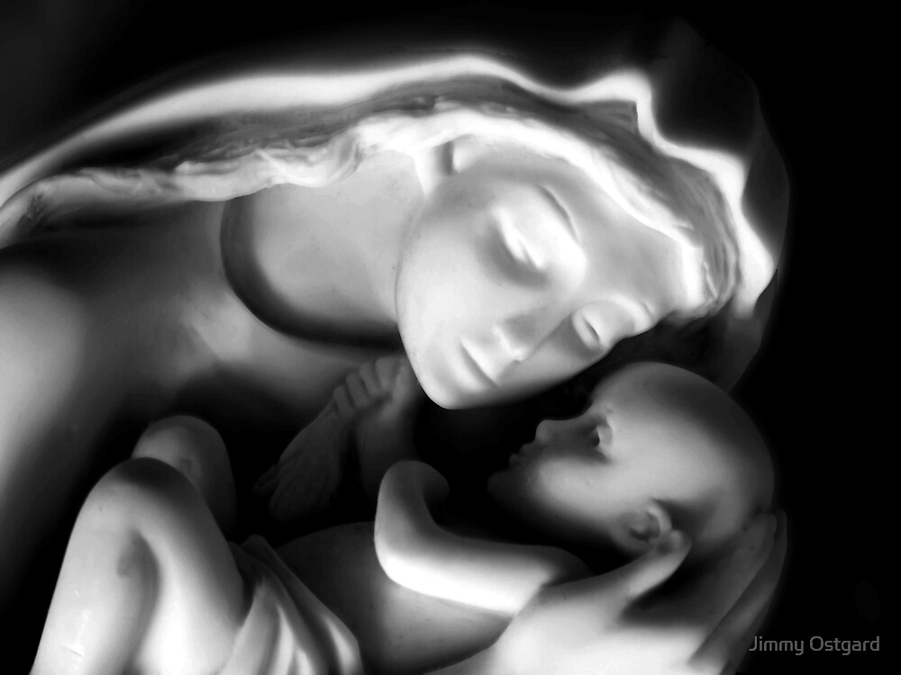 Mother and Child by Jimmy Ostgard