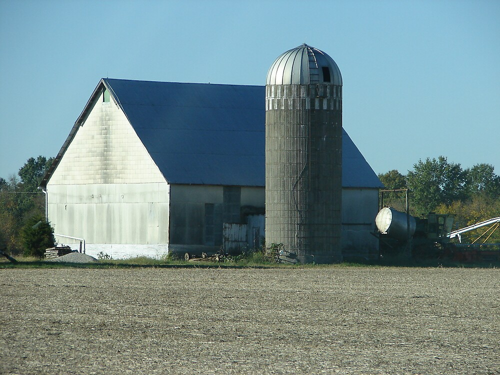 Barn on Hwy F by inventor