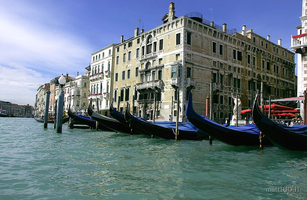 On the Canal of Venice by matt18041