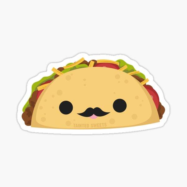 Señor Taco Sticker Sticker