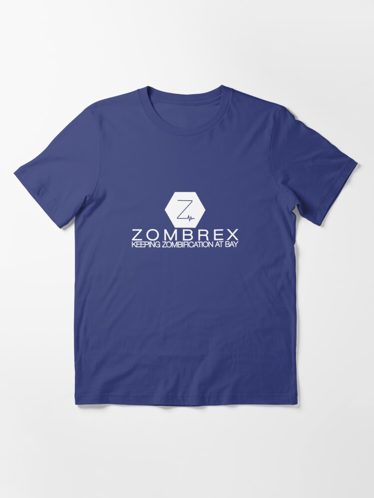 Alternate view of Zombrex - Keeping Zombification at Bay Essential T-Shirt