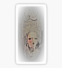 MARIE ANTOINETTE MANNEQUIN by Jacqueline Mcculloch  for House of Harlequin Sticker