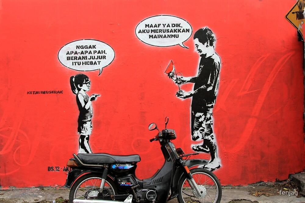 Street Art: global edition # 7 by fenjay