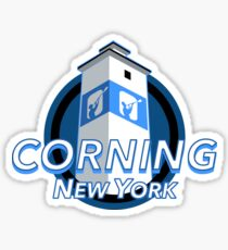 Corning New York Decal Sticker
