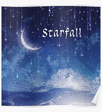 ACOMAF Starfall Scene (text) Poster
