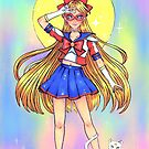 Sailor V by mitzimaru