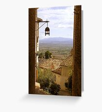 Breathtaking Assisi Greeting Card