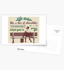 Forrest Gump Postcards