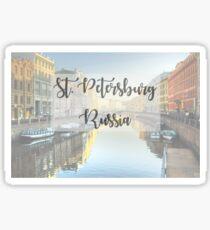 St. Petersburg Sticker