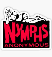 Nymphs Anonymous Sticker