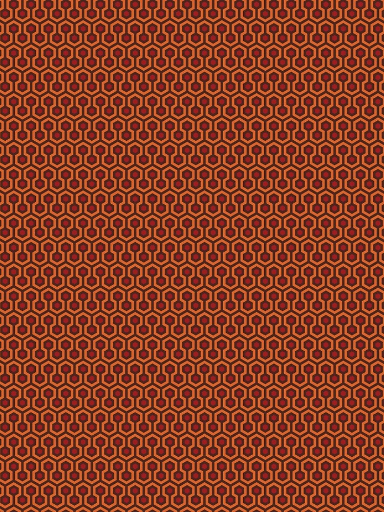 The Shining Repeating Carpet Pattern by carlhuber