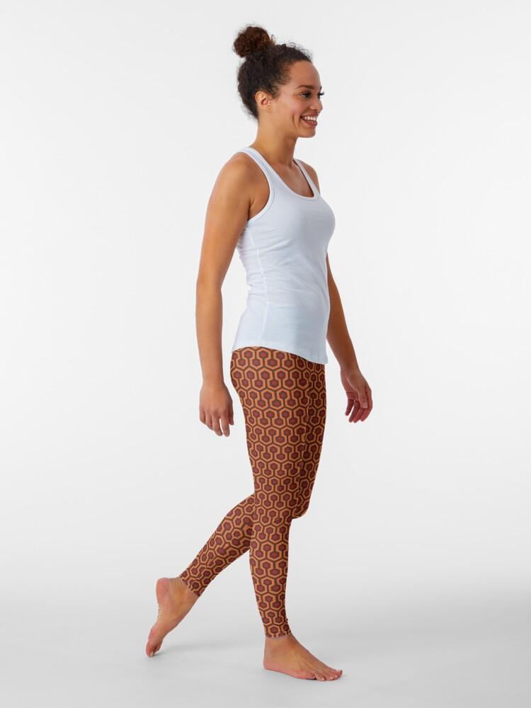 Alternate view of The Shining Repeating Carpet Pattern Leggings