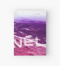 travel purple modern foto Hardcover Journal