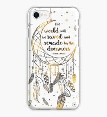 The world will be saved iPhone Case/Skin
