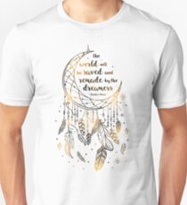 The world will be saved Unisex T-Shirt