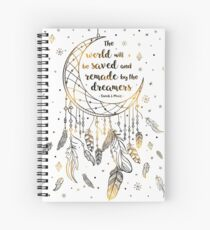 The world will be saved Spiral Notebook